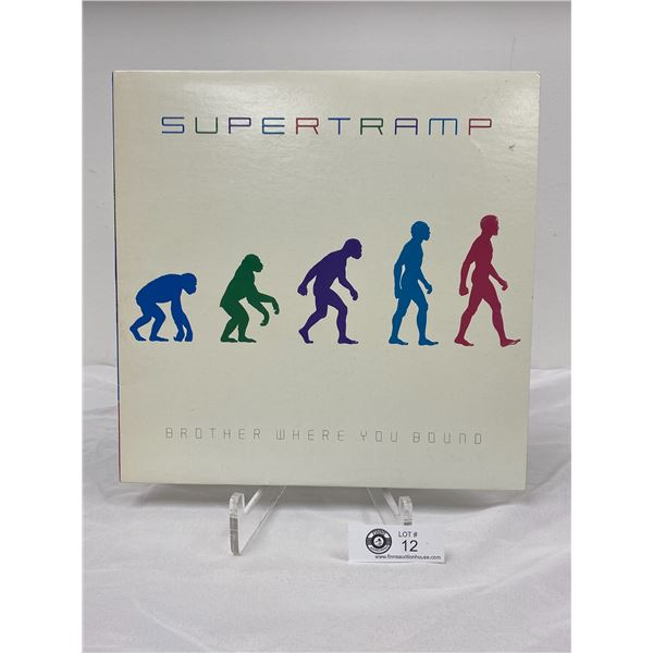 Supertramp (1985)  Brother Where You Bound No Scratches In Bag
