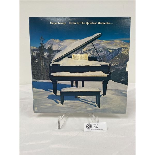 Supertramp (1977) Even In the Quietest Moments  In Outer Bag