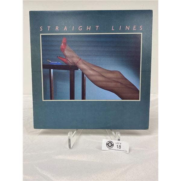 Straight Lines (1980) Straight Lines In Outer Bag