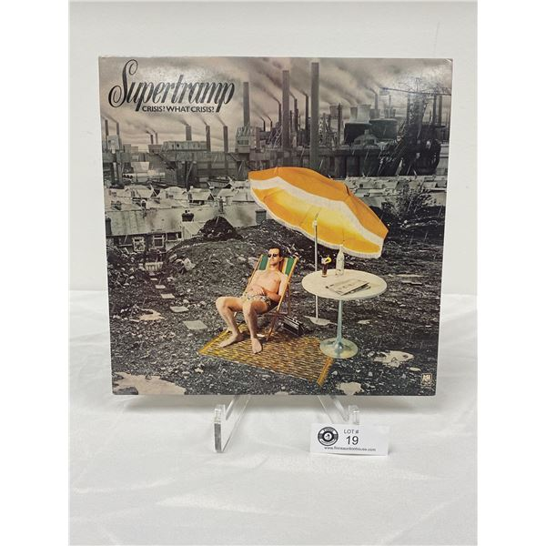Supertramp (1975) Crisis? What Crisis?  In Outer Bag