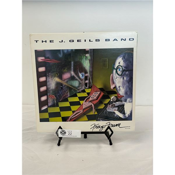 The J Giles Band (1981) Freeze Frame In Outer Bag