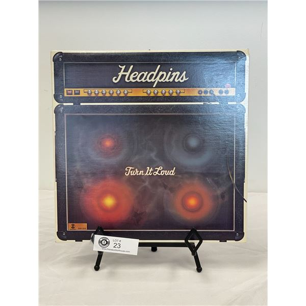 Headpins (1982) Turn it Loud  In Outer Bag