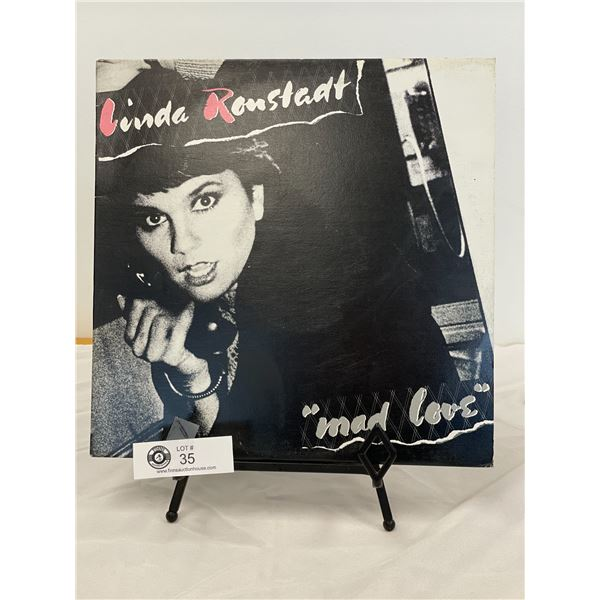 Linda Ronstadt (1980) Mad Love   In Outer Bag