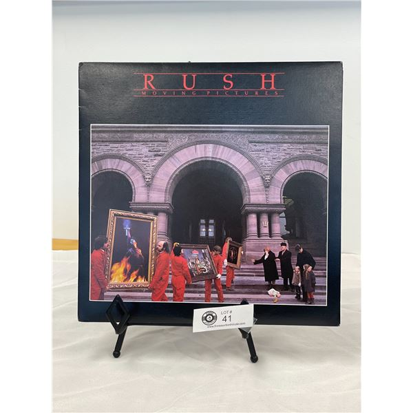 Rush (1981) Moving Pictures  In Outer Bag