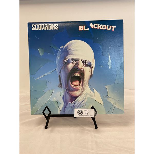 Scorpions (1982) Blackout In Outer Bag