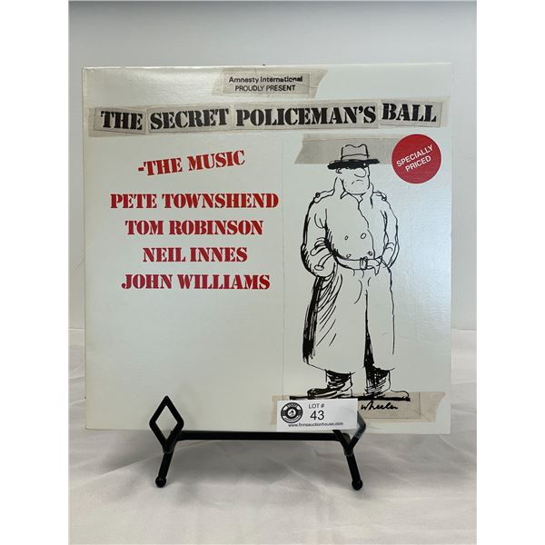 Amnesty International Proudly Presents (1979) The Secret Policeman's Ball  In Outer Bag