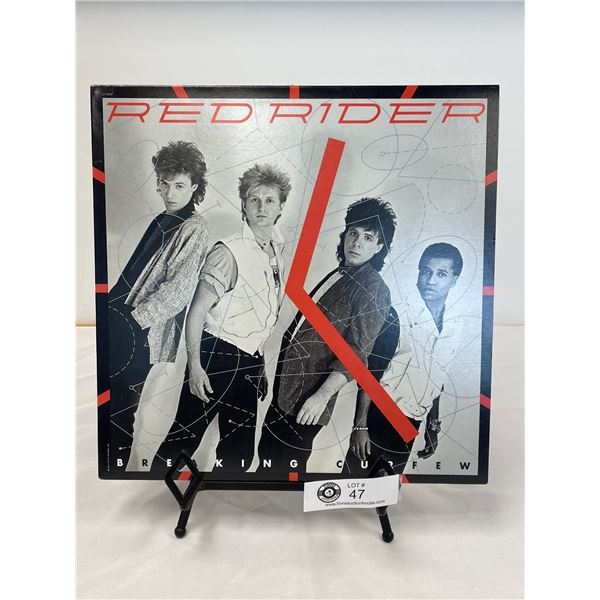 Red Rider  (1984) Breaking Curfew In Outer Bag