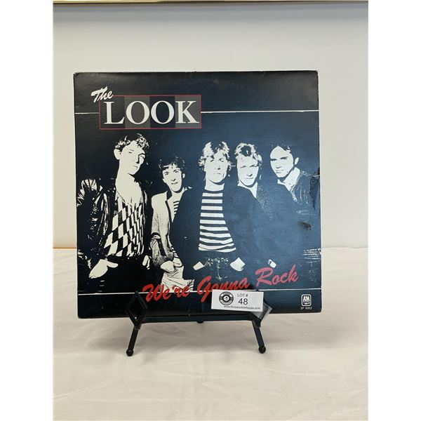 The Look  (1980) Were Gonna Rock In Outer Bag