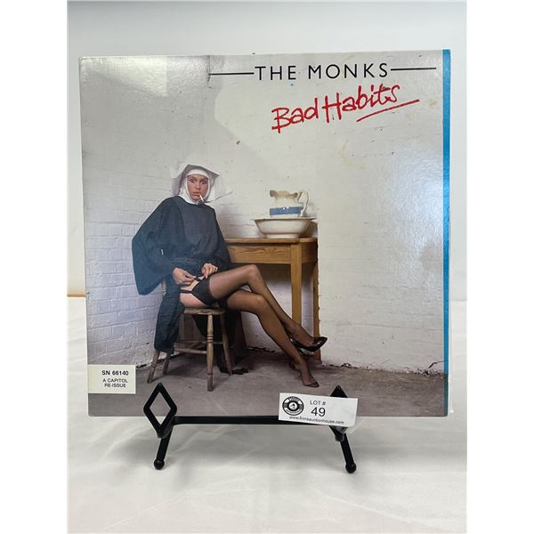 The Monks  (1979) Bad Habits In Outer Bag