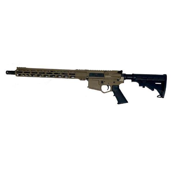 "Wise Arms AR 5.56 Optics Ready 16"" Rifle FDE"