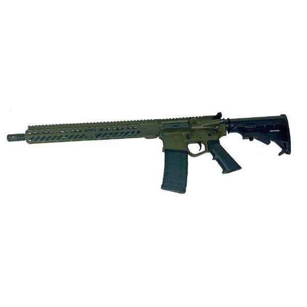 "Wise Arms AR 5.56 Optics Ready 16"" Rifle ODG"