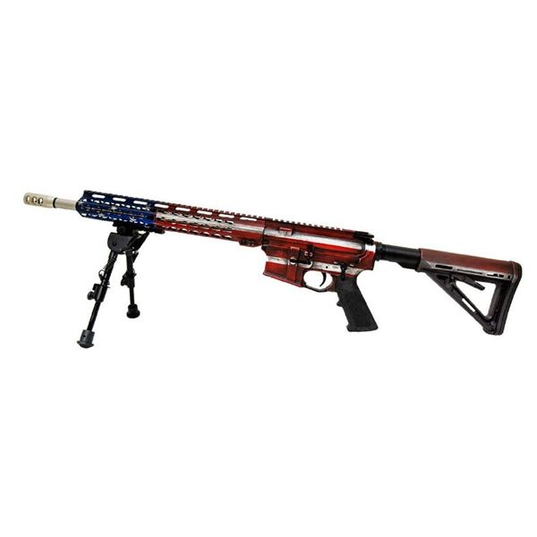 Wise Arms AR Rifle Red/White/Blue