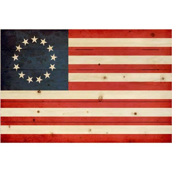 Betsy Ross Pallet Flag