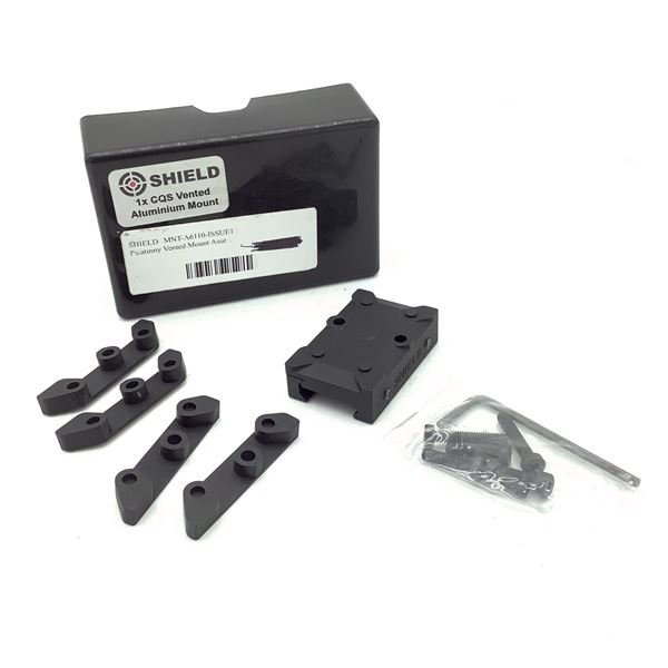Shield CQS Picatinny Vented Aluminum Mount Assembly, New
