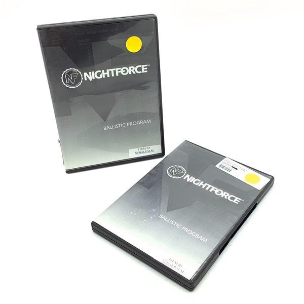 NightForce Ballistic Software Program X 2