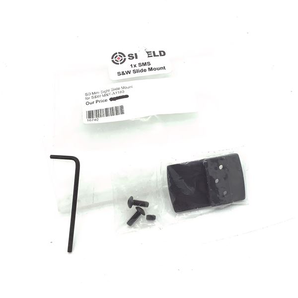 Shield SMS Mini Sight Slide Mount for S& W, New
