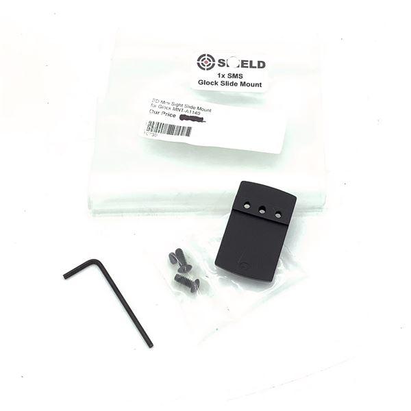 Shield SMS Mini Sight Slide Mount for Glock, New