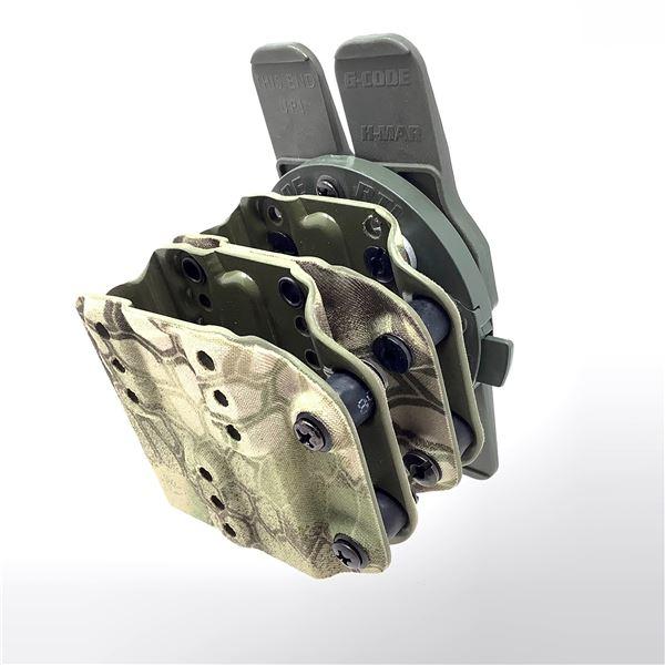 G-Code RTM Ambi Rifle Magazine Carrier with H-Mar, KPTK Mandrake Camo, New