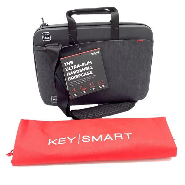 KeySmart Ultra Slim Hard Shell Briefcase