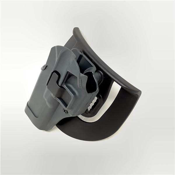 BlackHawk CQG Retention Paddle Holster for Glock 17, Grey