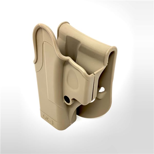 IMI Defense Retention Paddle LH Holster for Glock 17/ 22, Tan, New
