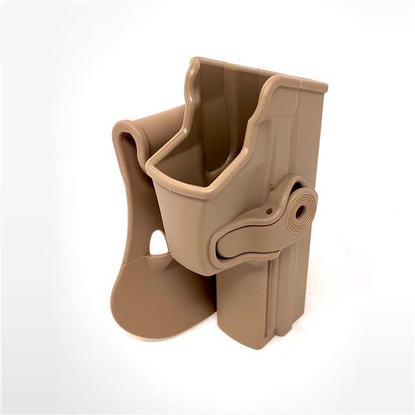 IMI Defense Retention Paddle Holster for H & K USP Full Size 9mm/ 40 Cal, Tan, New