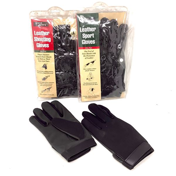 Uncle Mike's Sport Gloves, 3 Pair, New
