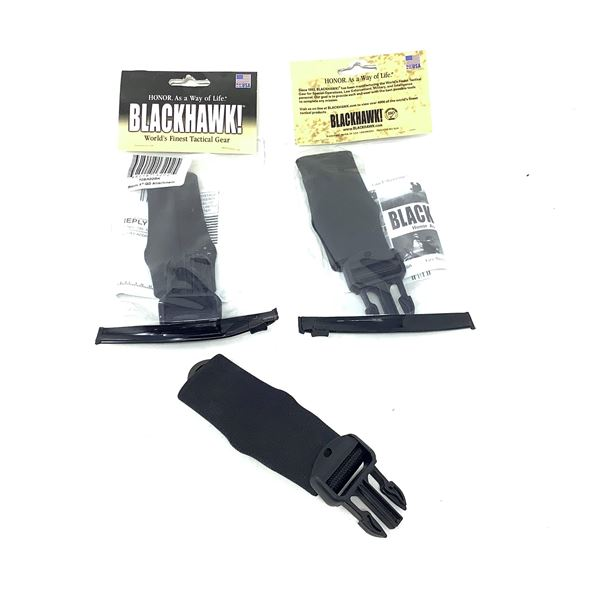 BlackHawk 70SA02BK Storm XT/QD Attachment, X 3, New