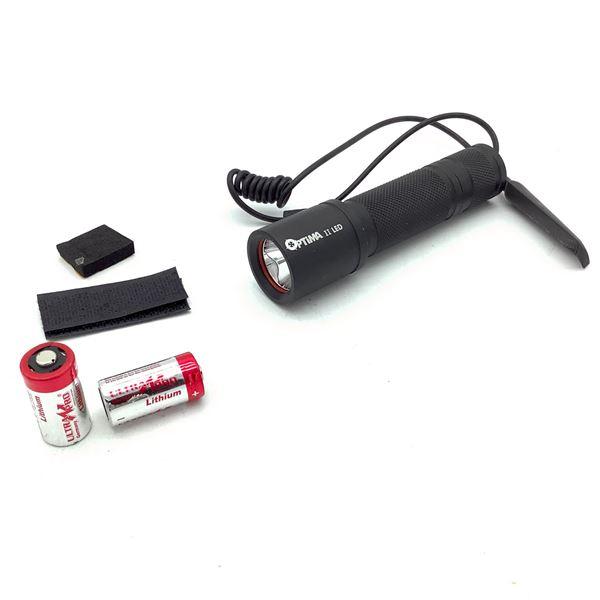 Optima II LED Flashlight With Switch