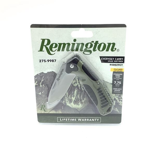 "Remington R50029CT EveryDay Carry Folding 3.25"" Blade, New"