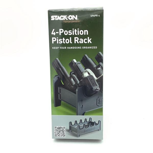 StackOn 4 Position Pistol Rack, New