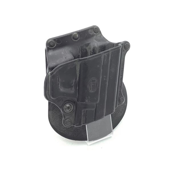 Fobus SP11B Paddle Holster for H & K P2000 and P2000SK 9mm and 40 Cal, Blk