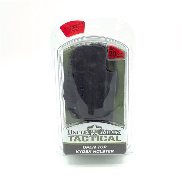 Uncle Mike's Tactical RH Holster for Beretta 92 and 96, Blk, New
