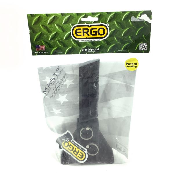 Ergo M.A.S.T. System for Large Frame Glocks, Fits 10 mm/ 45 Cal With Base, New
