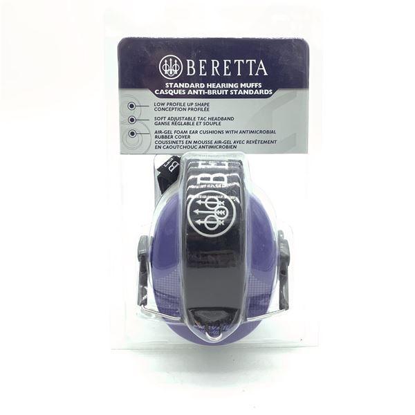 Beretta Prevail Std Hearing Muffs, Blue, New