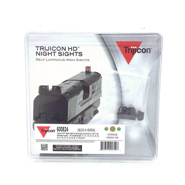 Trijicon HD Night Sights for Glock 17/ 22, Orange, New