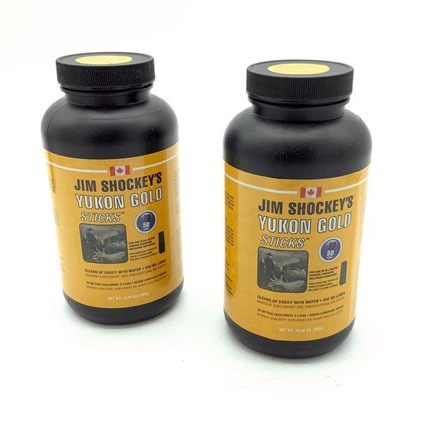 Jim Shockey's Yukon Gold Sticks for 50 Cal, 50 Grain Equivalent 100 Pc X 2