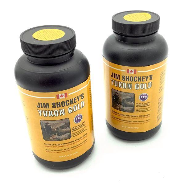 Jim Shockey's Yukon Gold FFG Black Powder Substitute, 1 Lb X 2