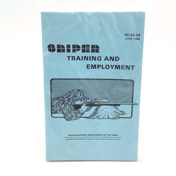 Military Sniper Training and Employment Handbook, June 1989
