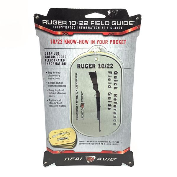 Real Avid AV1022R Ruger 10/22 Field Guide, New