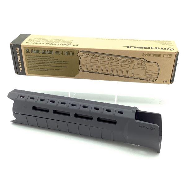 Magpul MAG551 MOE SL Midlength Handguard, Grey, New