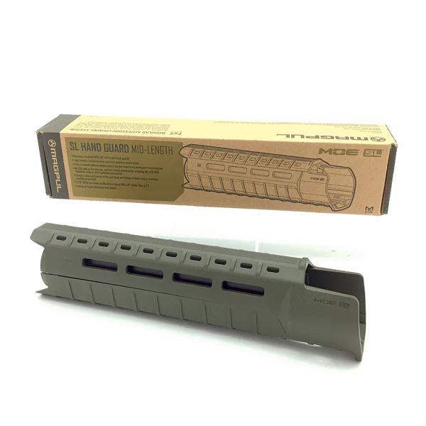 Magpul MAG551 MOE SL Midlength Handguard, ODG, New