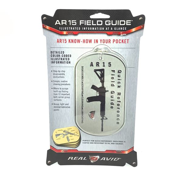Real Avid AVAR15R AR-15 Field Guide, New