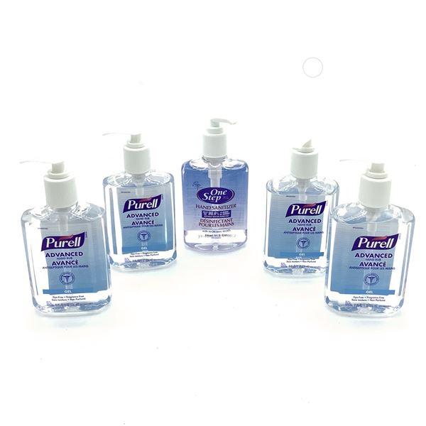 Hand Sanitizer, 236 mL X 5, New