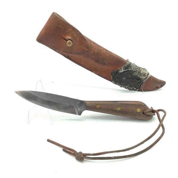 """Grohmann Belt Knife, 4"""" Fixed Blade"""