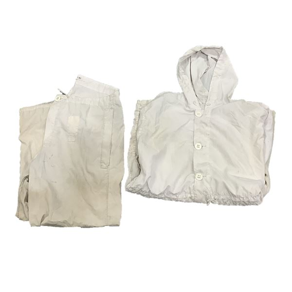 Trousers, Camouflage White, Medium and Parka Camouflage White, Medium