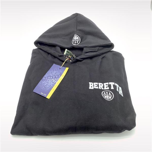 Beretta Classic Logo Sweatshirt, Black, XXL