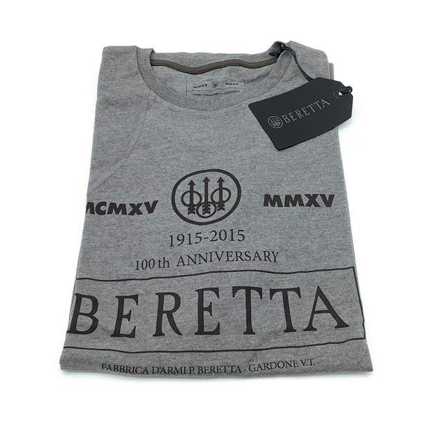 Beretta Centennial T-Shirt, Grey, 3XL
