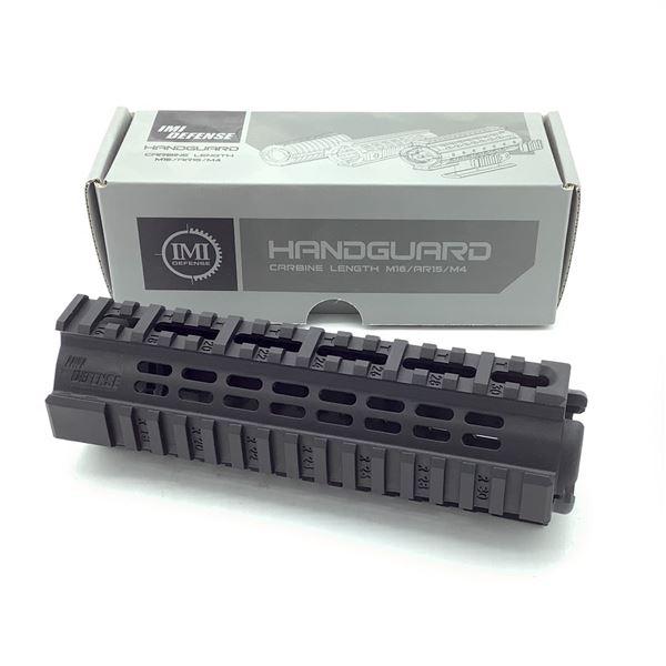 IMI Defense PCQ Carbine Length AR-15/ M16/ M4 Handguard With Rails, Blk