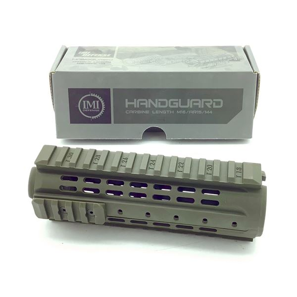 IMI Defense PCQ Carbine Length AR-15/ M16/ M4 Handguard With Rails, ODG